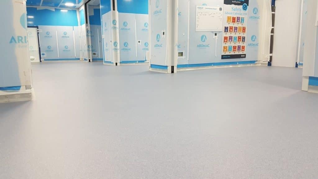 cleanroom epoxy coating