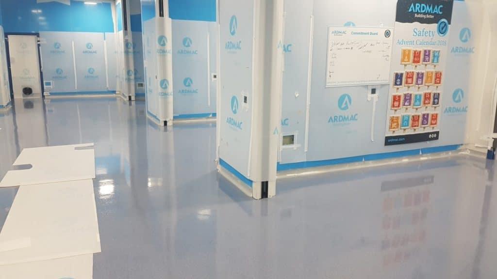 cleanroom epoxy floor