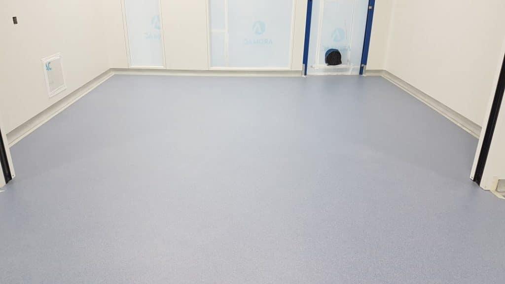 cleanroom epoxy resing flooring