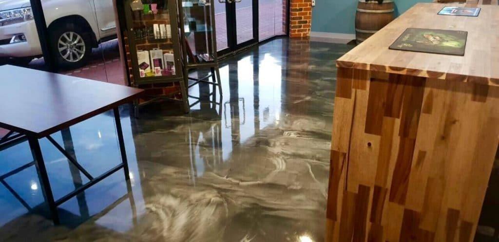 epoxy concrete floor commercial 4