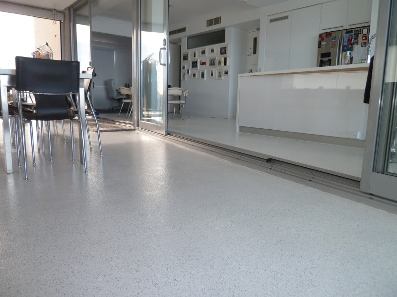 residential applications of epoxy flooring