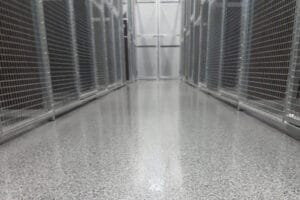 commercial applications for epoxy flooring