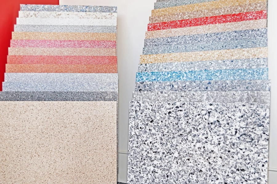 how to select the right colour epoxy flooring